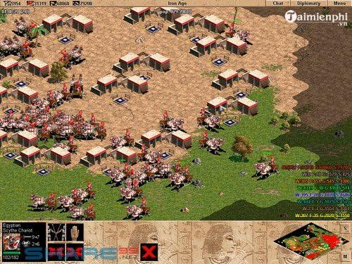 Tải AOE 1 bản chuẩn - game đế chế xanh huyền thoại 2