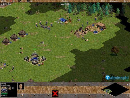 Tải AOE 1 bản chuẩn - game đế chế xanh huyền thoại 1