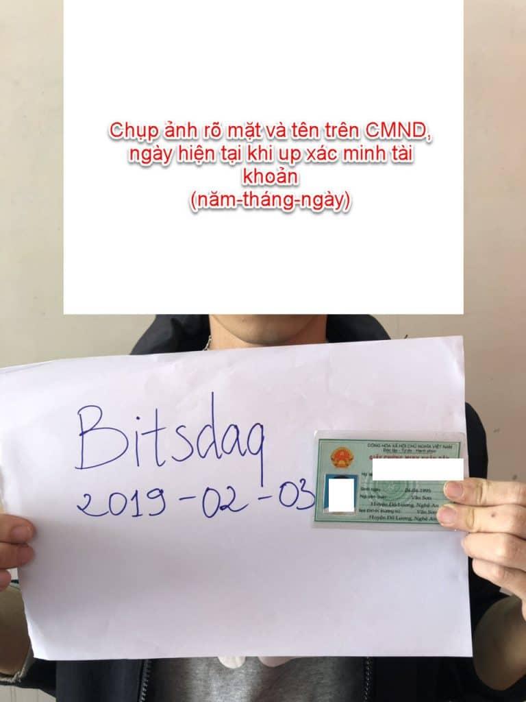 Kiếm tiền online bằng cách đăng ký sàn Bitsdaq nhận coin 8