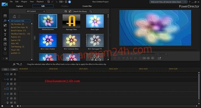 Tải CyberLink PowerDirector Ultimate 17 full key- Phần mềm chỉnh sửa video chuyên nghiệp 1