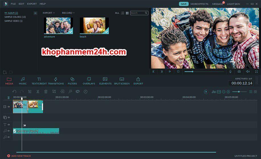 Tải Wondershare Filmora 9.1 full - Phần mềm chỉnh sửa video 2