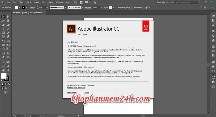 Tải Adobe Illustrator CC 2017 full - Hướng dẫn cách cài đặt Illustrator CC 2017 6