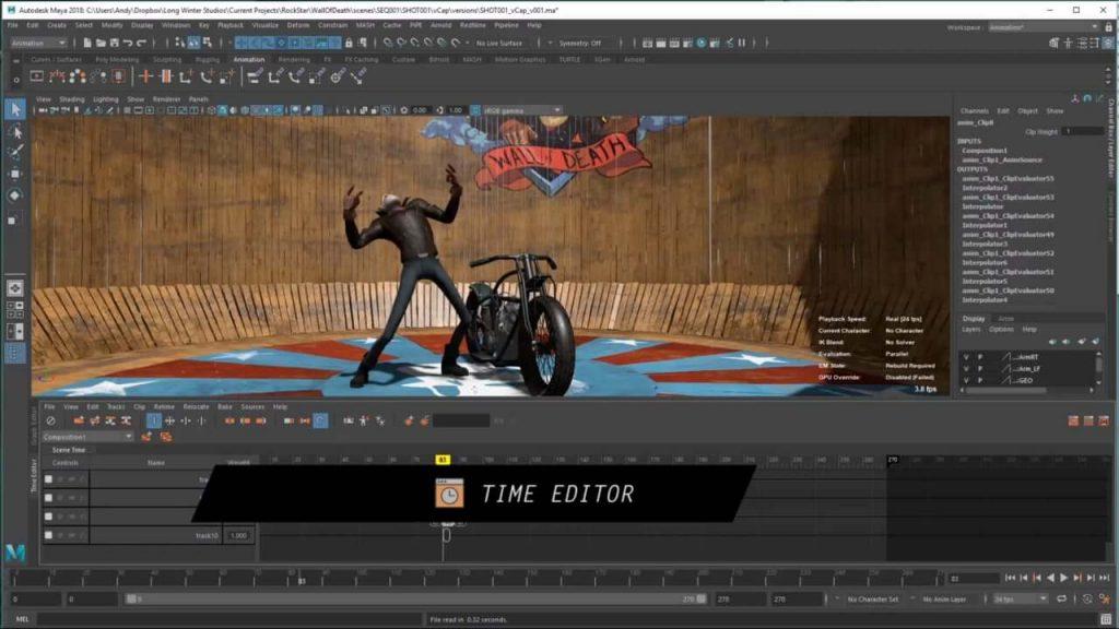 Download Autodesk Maya 2018 full - Phần mềm hoạt hình 3D 2