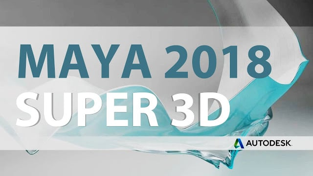 Download Autodesk Maya 2018 full - Phần mềm hoạt hình 3D 1