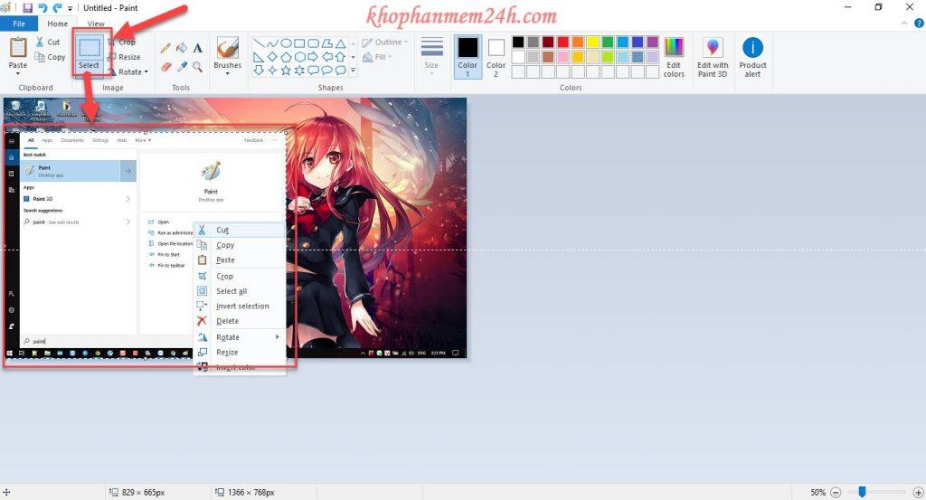Hướng dẫn cách chụp màn hình máy tính đơn giản trên Windows. 7