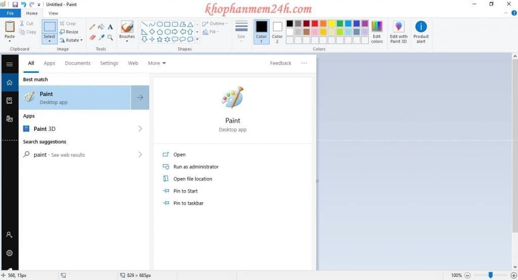 Hướng dẫn cách chụp màn hình máy tính đơn giản trên Windows. 8