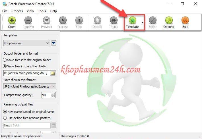 Hướng dẫn cách đóng dấu ảnh hàng loạt bằng Batch Watermark Creator 7.0.3 2