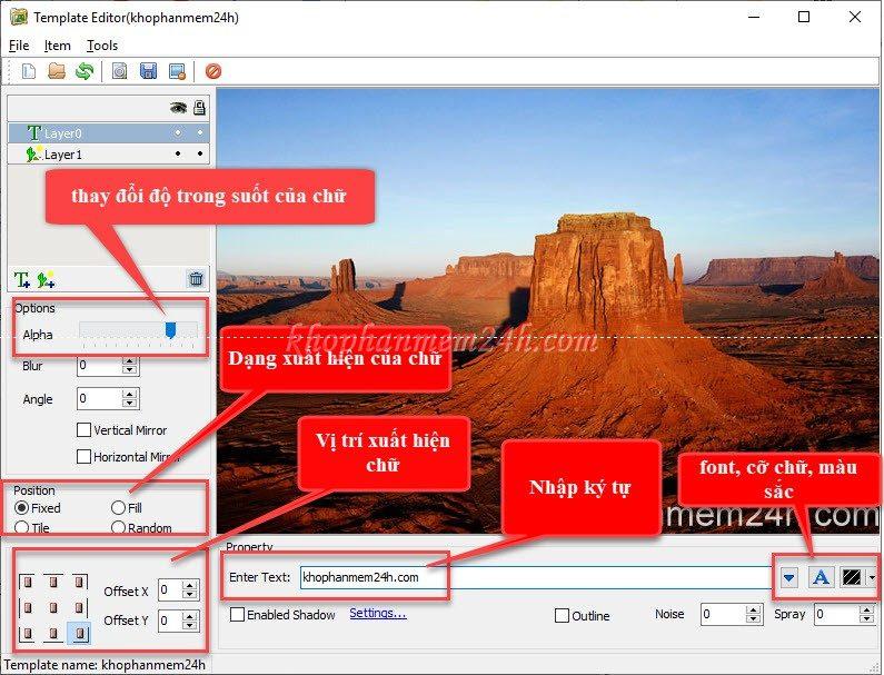 Hướng dẫn cách đóng dấu ảnh hàng loạt bằng Batch Watermark Creator 7.0.3 5