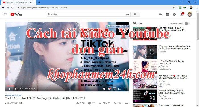 4 Cách tải video youtube đơn giản 1