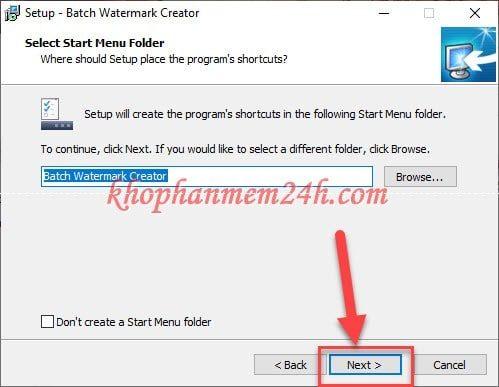Tải Batch Watermark Creator 7.0.3 - Phần mềm đóng dấu ảnh hàng loạt 7