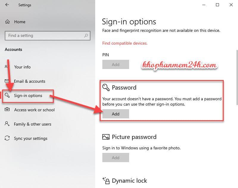 Hướng dẫn cách cài mật khẩu máy tính khi đăng nhập 8