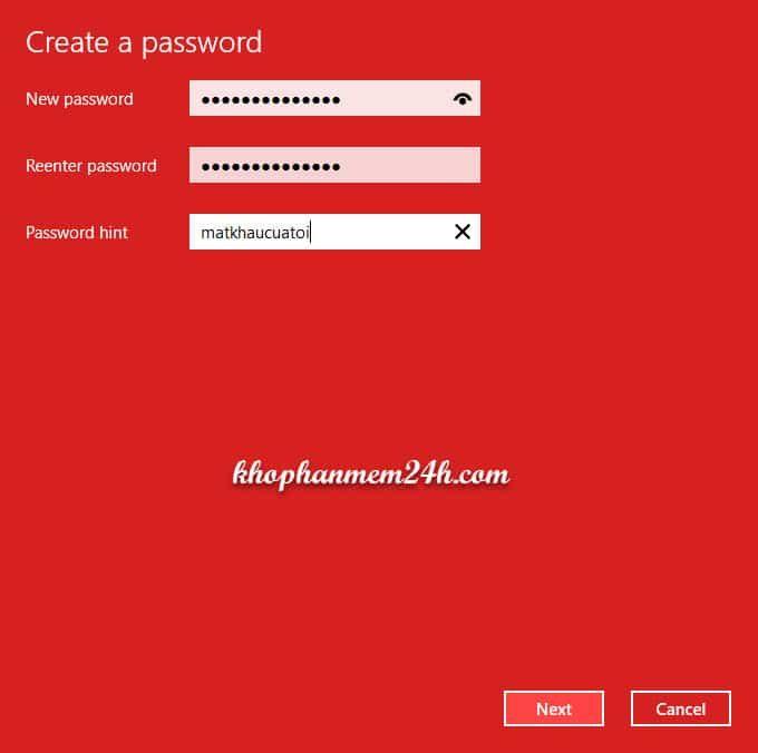 Hướng dẫn cách cài mật khẩu máy tính khi đăng nhập 9