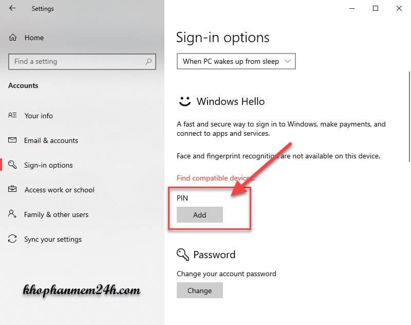 Hướng dẫn cách cài mật khẩu máy tính khi đăng nhập 11