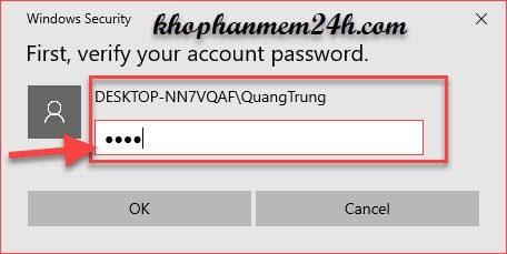Hướng dẫn cách cài mật khẩu máy tính khi đăng nhập 12