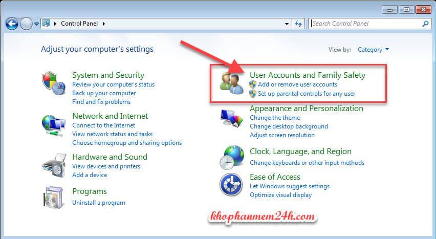 Hướng dẫn cách cài mật khẩu máy tính khi đăng nhập 3