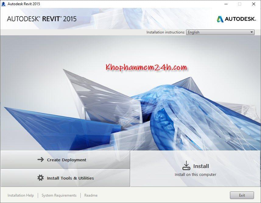 Hướng dẫn cài đặt Revit 2015 chi tiết nhất 5