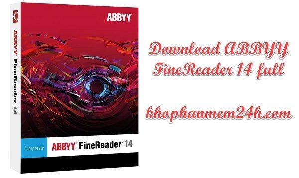 [Link GDrive] Download Phần Mềm Abbyy Finereader 14 Full Crack