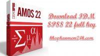 Tải SPSS 22 Full Key – Hướng dẫn cài đặt SPSS 22 full