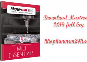 Hướng dẫn tải và cài đặt Mastercam 2019 full key