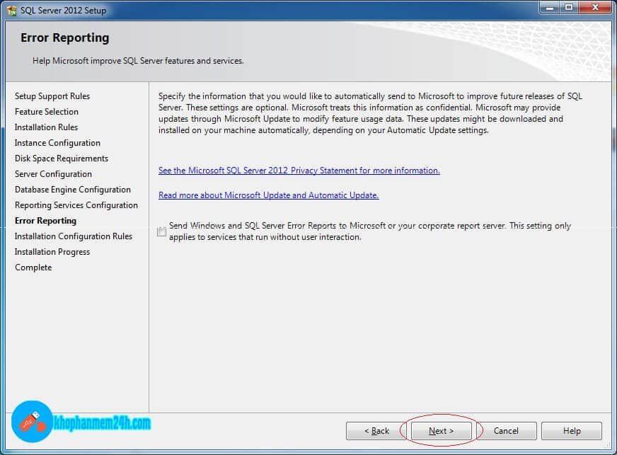 Download SQL Server 2012 Full - Hướng dẫn cài đặt SQL Server 2012 13