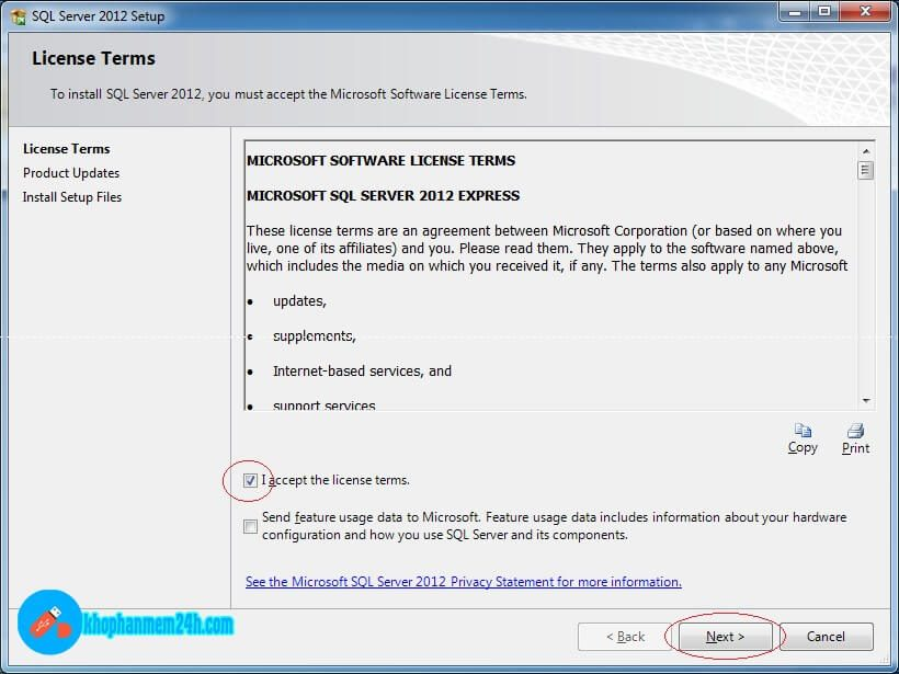 Download SQL Server 2012 Full - Hướng dẫn cài đặt SQL Server 2012 6