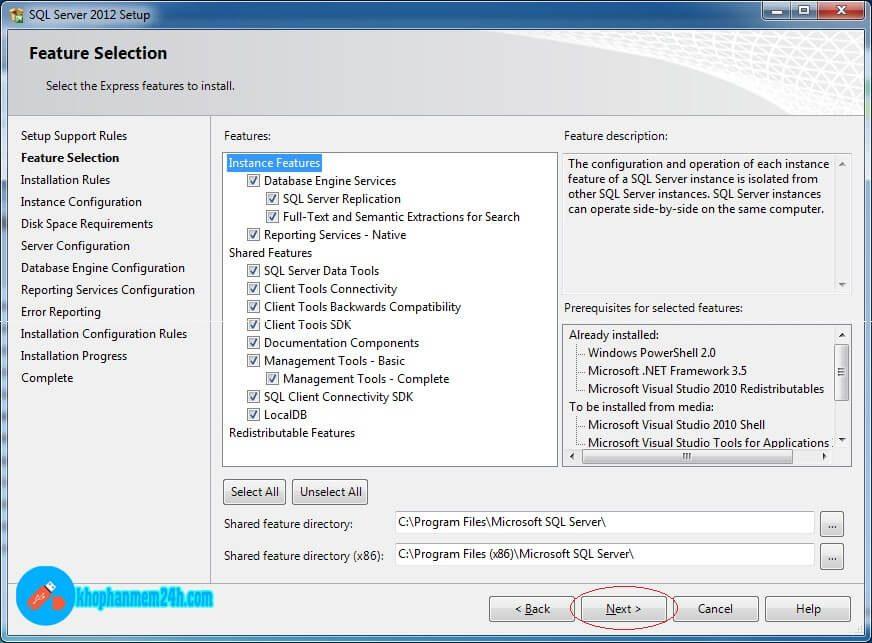 Download SQL Server 2012 Full - Hướng dẫn cài đặt SQL Server 2012 7