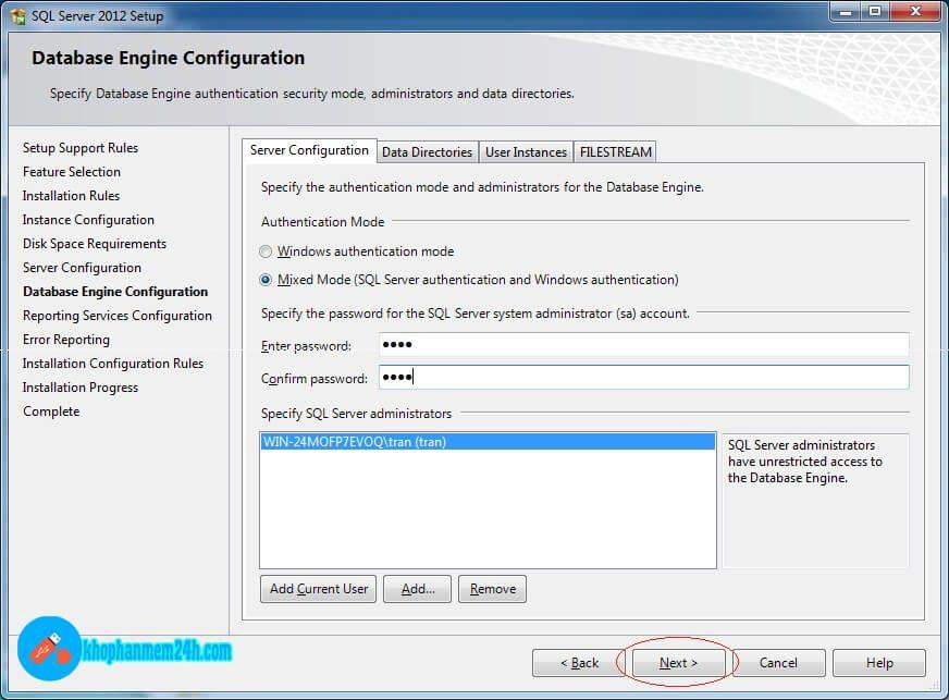 Download SQL Server 2012 Full - Hướng dẫn cài đặt SQL Server 2012 11