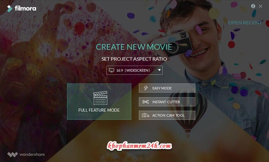 Tải Wondershare Filmora 8.7.6 full key - Phần mềm chỉnh sửa video đơn giản 8