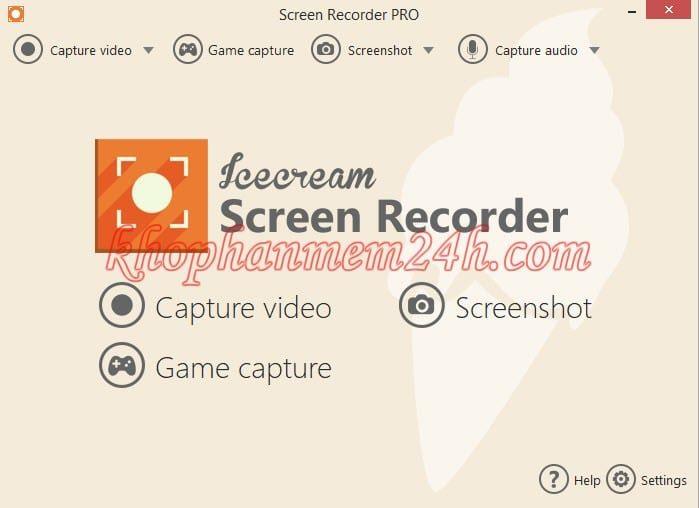 Tải Icecream Screen Recorder Pro 5.8 full key - Phần mềm quay màn hình máy tính 2