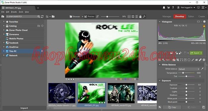 Download Zoner Photo Studio X 19 full key - Phần mềm chỉnh sửa ảnh 2