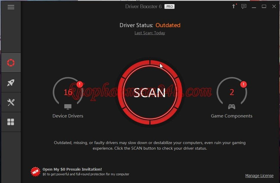 Tải IObit Driver Booster Pro 6 full key - Phần mềm cập nhật driver 2