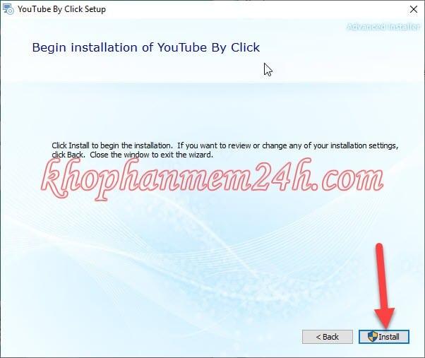 Tải YouTube by Click 2.2.93 full key - Phần mềm tải video youtube 8