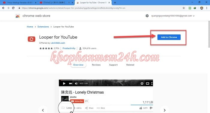 3 cách Repeat Youtube - Cách lặp lại video trên Youtube 3
