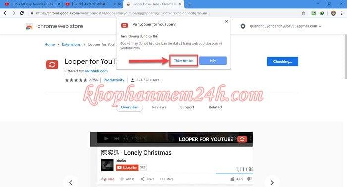 3 cách Repeat Youtube - Cách lặp lại video trên Youtube 4
