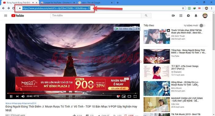 3 cách Repeat Youtube - Cách lặp lại video trên Youtube 6