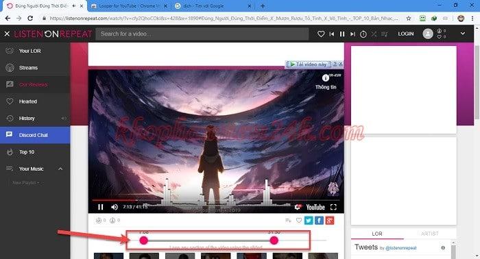 3 cách Repeat Youtube - Cách lặp lại video trên Youtube 8