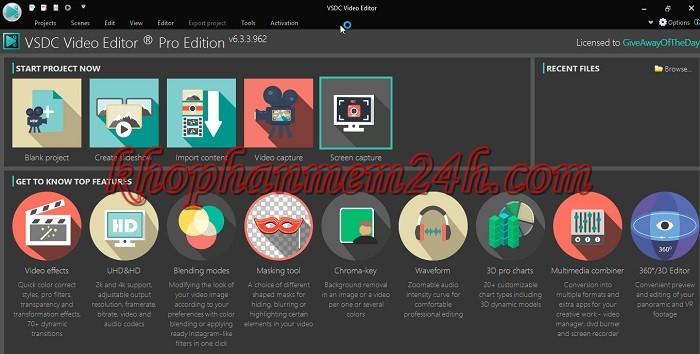 Tải VSDC Video Editor Pro 6.3 full key - Phần mềm chỉnh sửa video 1