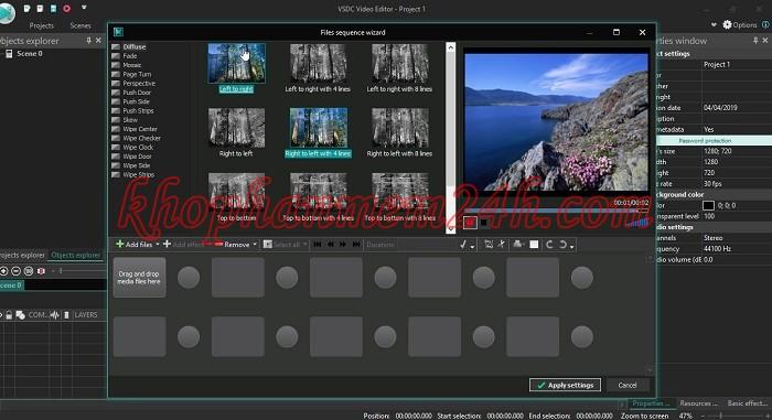 Tải VSDC Video Editor Pro 6.3 full key - Phần mềm chỉnh sửa video 2