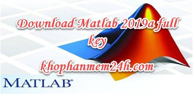 Download Matlab 2019 full 64bit - Hướng dẫn cài đặt chi tiết 1