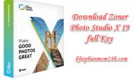 Download Zoner Photo Studio X 19 full key – Phần mềm chỉnh sửa ảnh