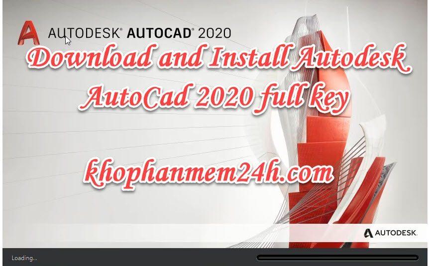 Tải AutoCad 2020 full key mới nhất & Hướng dẫn cài đặt 1