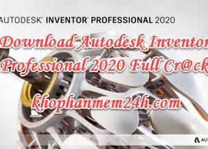 Hướng dẫn Download InVentor 2020 full key