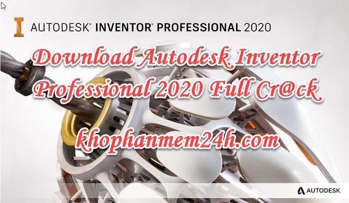 Hướng dẫn Download InVentor 2020 full key 1