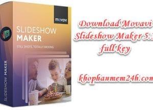 Tải Movavi Slideshow Maker 5.3 full key mới nhất 2019