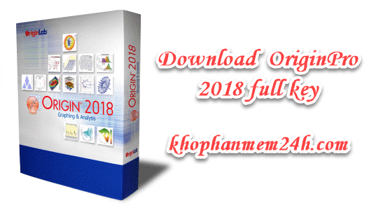 Tải OriginPro 2018 v9.5 full key – Phần mềm vẽ biểu đồ và phần tích thông tin