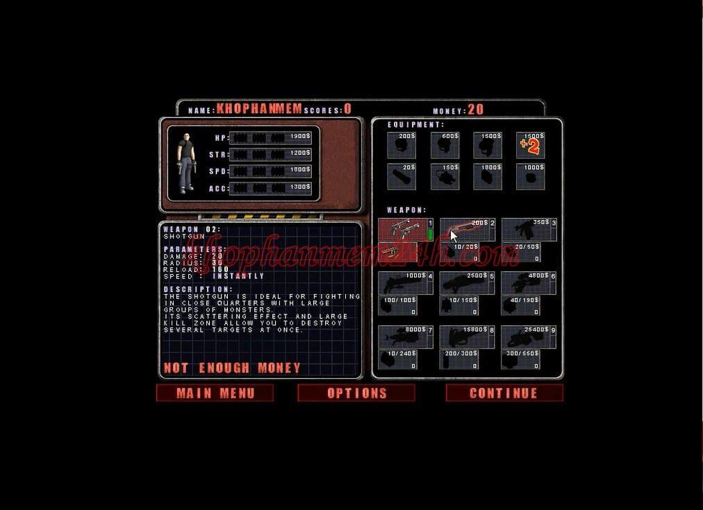 Tải Game Alien Shooter 1 full - Game bắn súng diệt quái vật ngoài hành tinh 2