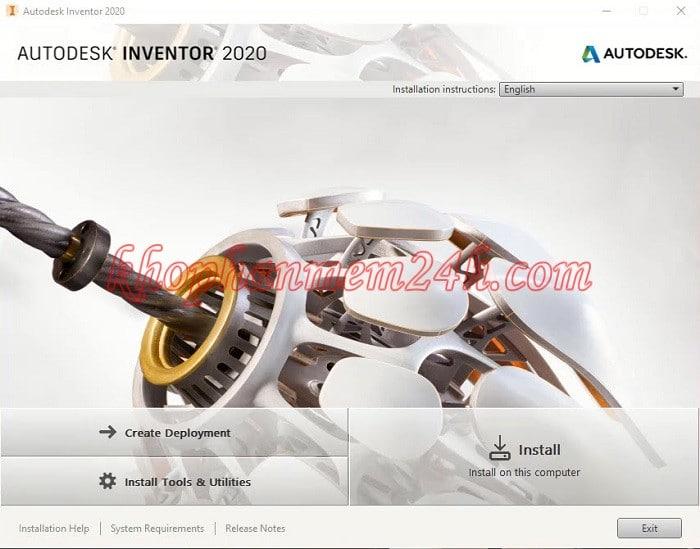Hướng dẫn Download InVentor 2020 full key 5
