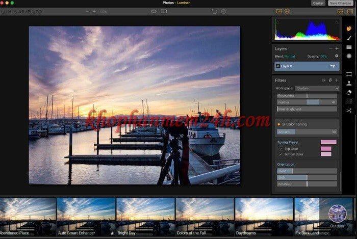 Tải Luminar 3.1 for Windows - Phần mềm chỉnh sửa ảnh 1