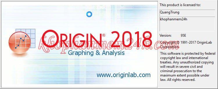Tải OriginPro 2018 v9.5 full key - Phần mềm vẽ biểu đồ và phần tích thông tin 5