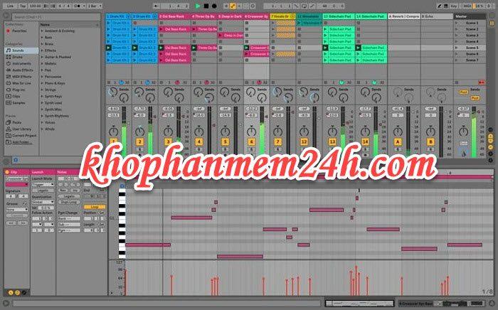 Tải Ableton Live 10 Suite full - Phần mềm chỉnh sửa âm thanh chuyên nghiệp 1